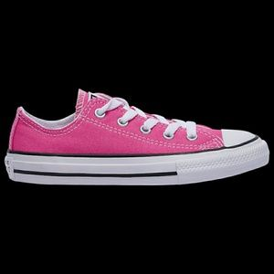 Size 3 girls converse sneakers in box